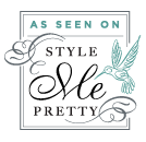 As featured on Style Me Pretty Texas